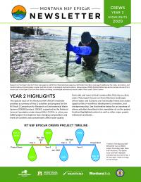 Cover image of CREWS Year 2 Highlights newsletter